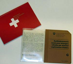 Grenzgängerausweis Schweiz