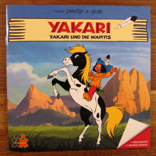 yakari wapitis maxibuch