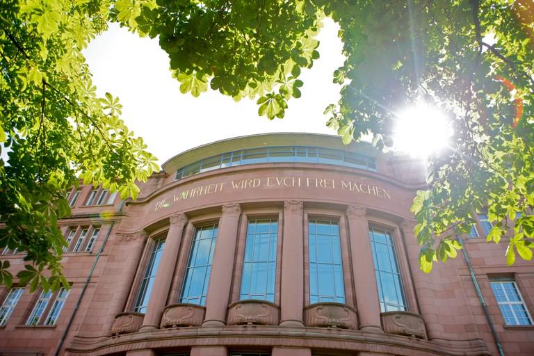 Universität Freiburg, Foto: Mesenholl