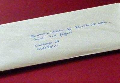 Brief-in-Papierform