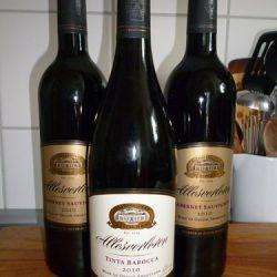 Wein vom Weingut Allesverloren