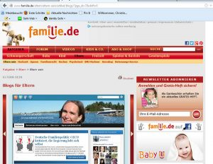 Elternblogs bei Familie.de