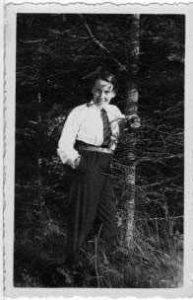 Elisabeth Duve 1933