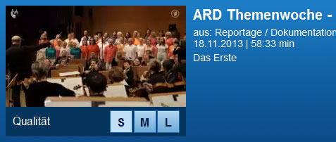 Link zur Sendung in der Mediathek der ARD