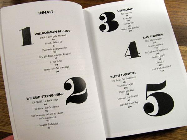 Nido-Buch Inhaltverzeichnis