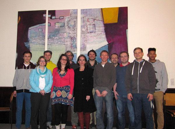 Junges Forum Gruppenfoto vom 19.2.2014