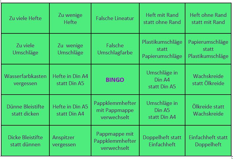 eltern schulheftekauf bingo