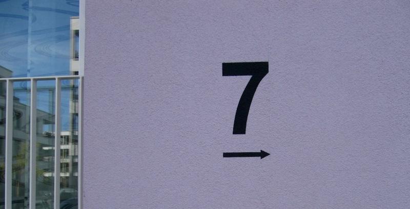 hausnummer sieben