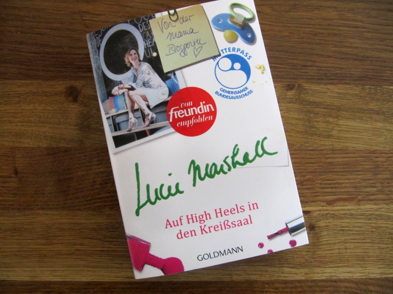 Lucie Marshall: Auf High Heels in den Kreißsaal