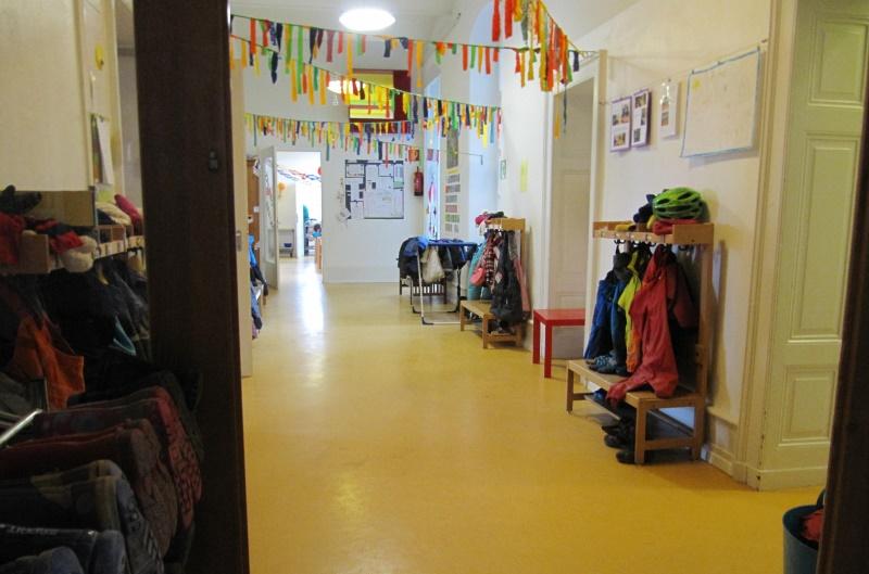 kindergarten drinnen