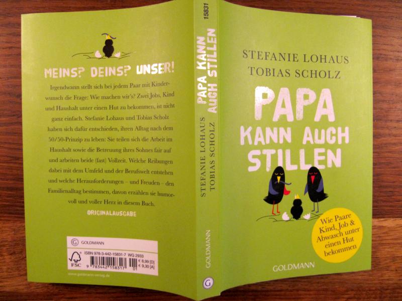 Papa kann auch stillen von Stefanie Lohaus und Tobias Scholz