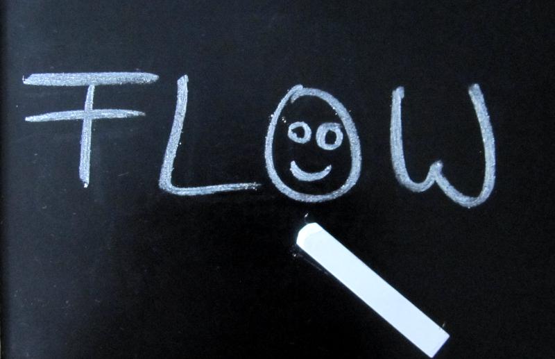 Kreidetafel Flow