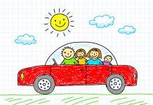 Autofahrt mit Kind