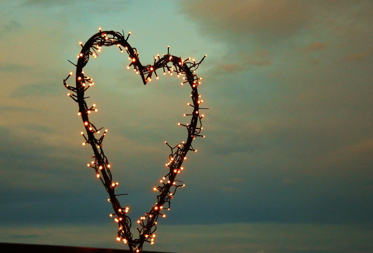 Lichterkette Herz