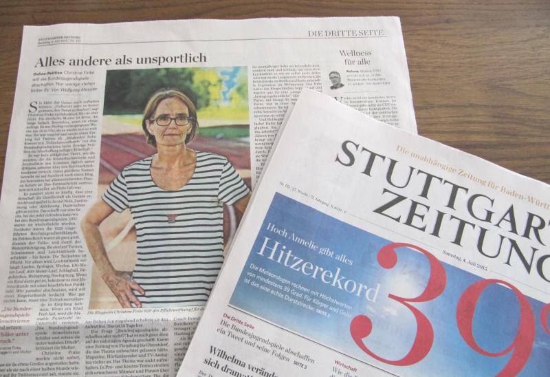 Stuttgarter Zeitung vom 4. Juli 2015, S. 3