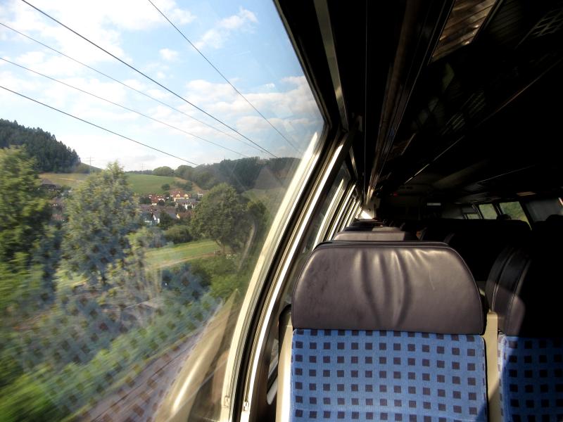 Heimfahrt über den Schwarzwald