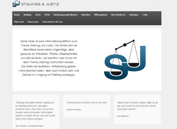 Stalking Webseite