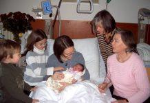 Geburt Jüngste