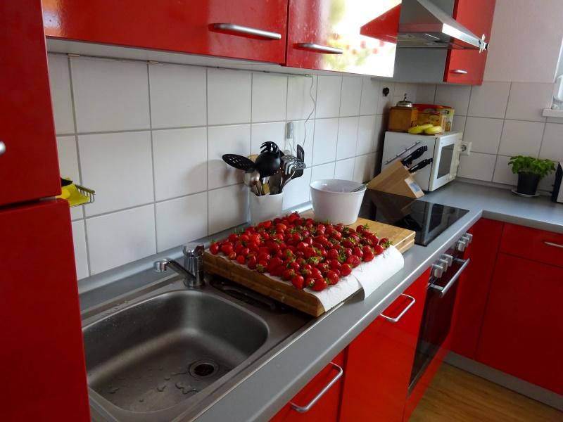erdbeeren küche