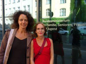 Annette Loers und Christine Finke