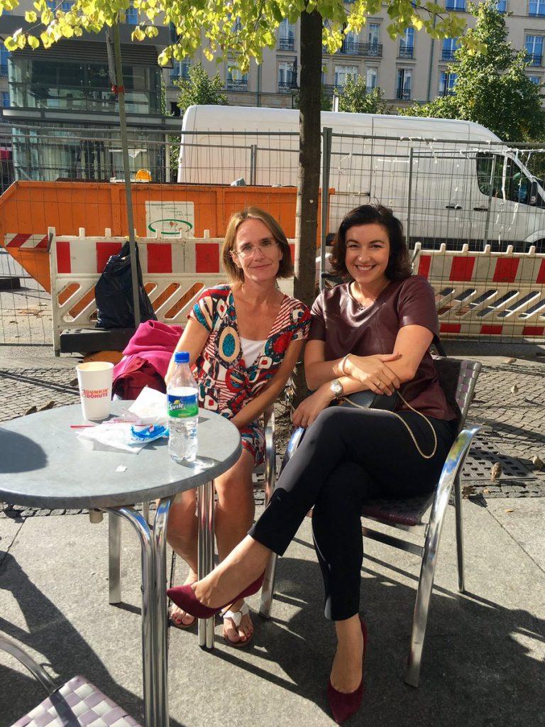 Doro Bär und Christine Finke