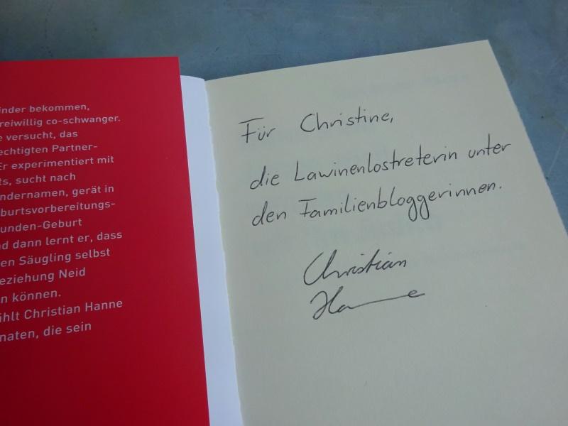 Christian Hanne Buch Widmung