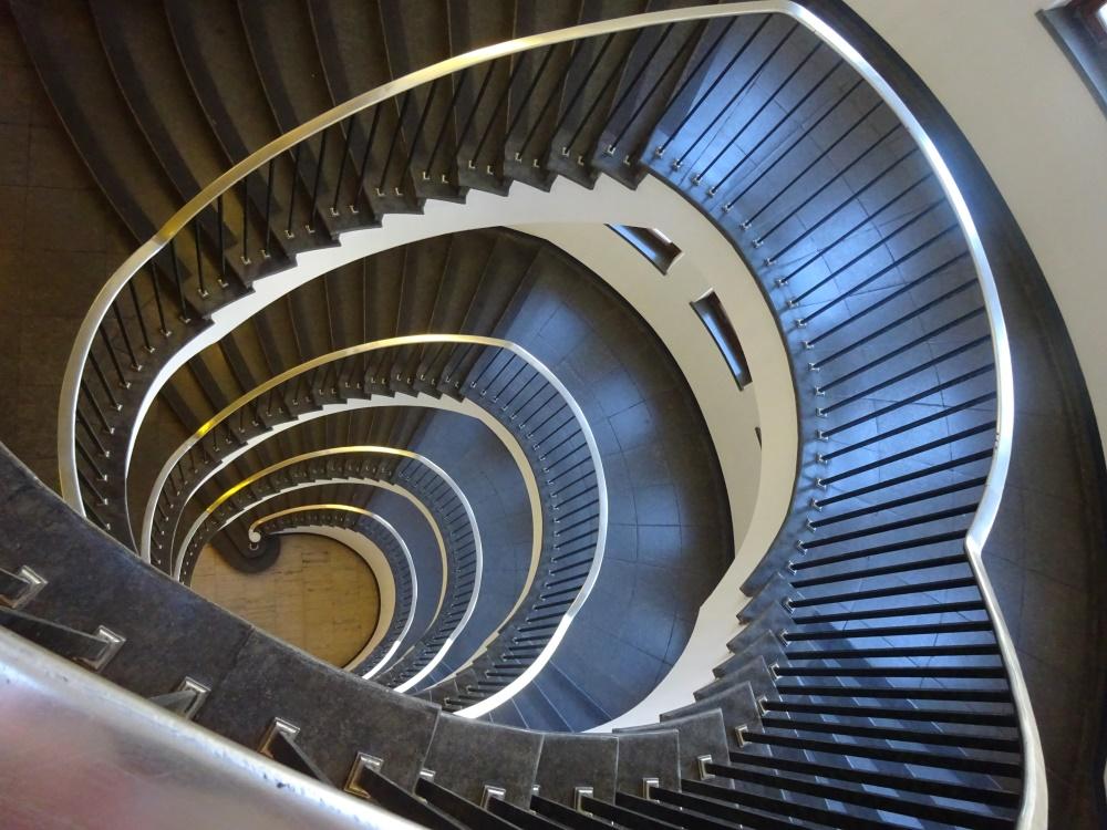 Treppenhaus im Funkhaus