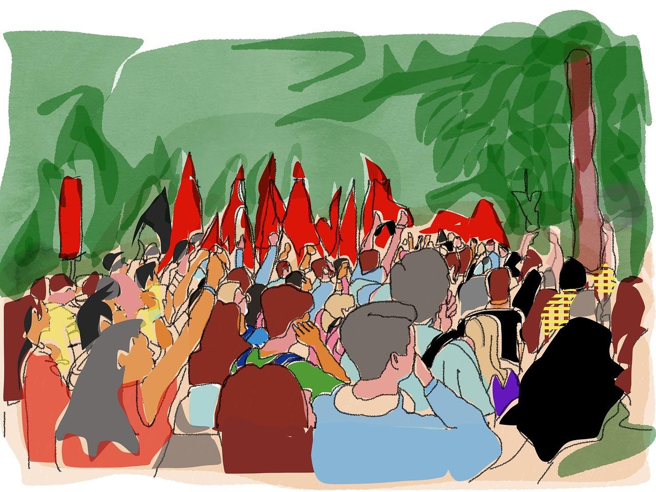 Alleinerziehenden Streik