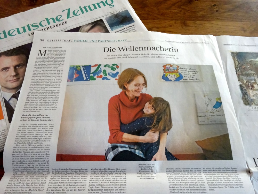 Christine Finke in SZ