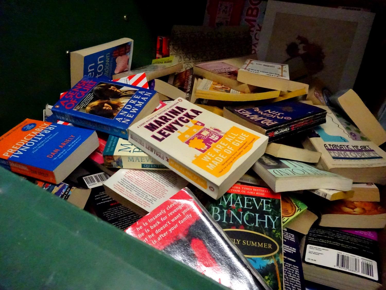 Bücher wegwerfen