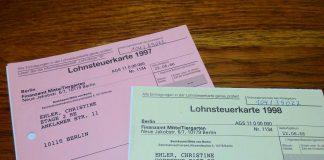 Lohnsteuerkarten